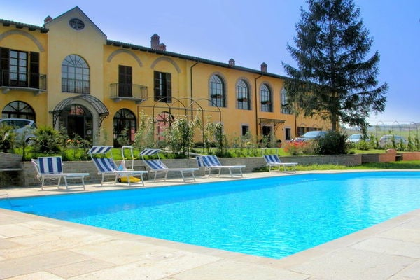 Vakantie accommodatie Nizza Monferrato Noord-Italië,Piemonte 4 personen