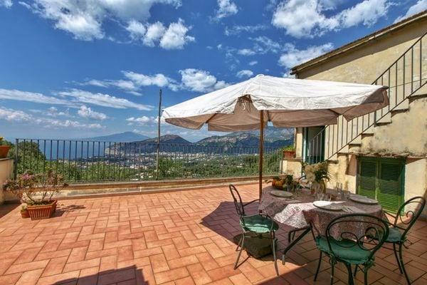 Vakantie accommodatie Napels / Campania Italië 4 personen