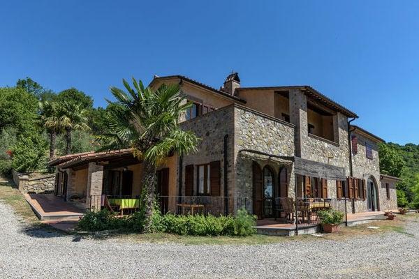 Vakantie accommodatie Umbrië Italië 6 personen