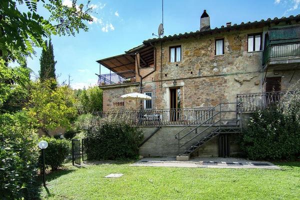Vakantie accommodatie Montaione Toscane,Florence en omgeving 4 personen