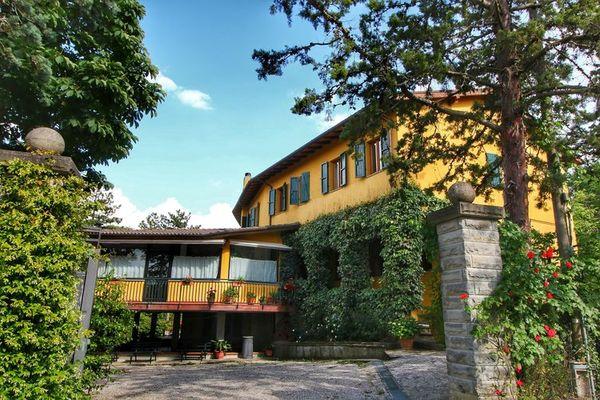 Vakantie accommodatie Anghiari Toscane 17 personen