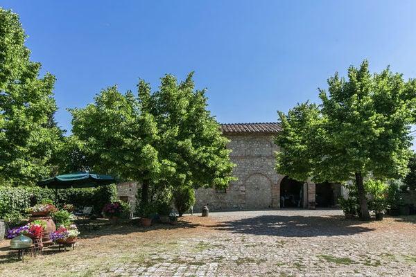 Vakantie accommodatie Monteroni d'Arbia Toscane,Siena en omgeving 2 personen