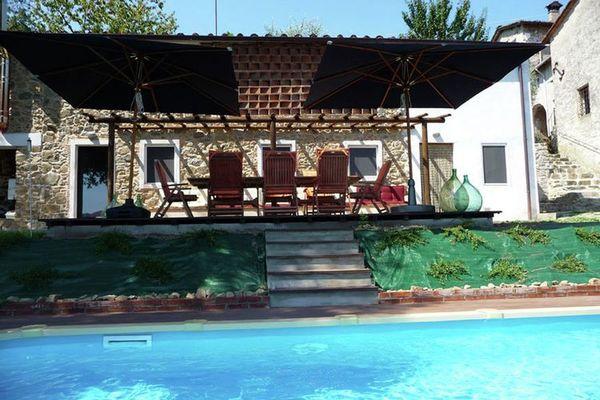 Vakantie accommodatie Borgo a Mozzano Noord-Italië,Toscane,Toscaanse Kust,Pisa-Lucca en omgeving 6 personen
