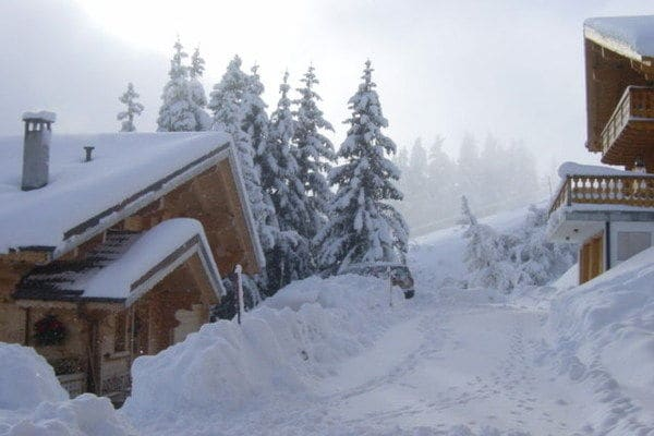 Blanche Neige - Chalet - Champoussin - Exterior - Winter