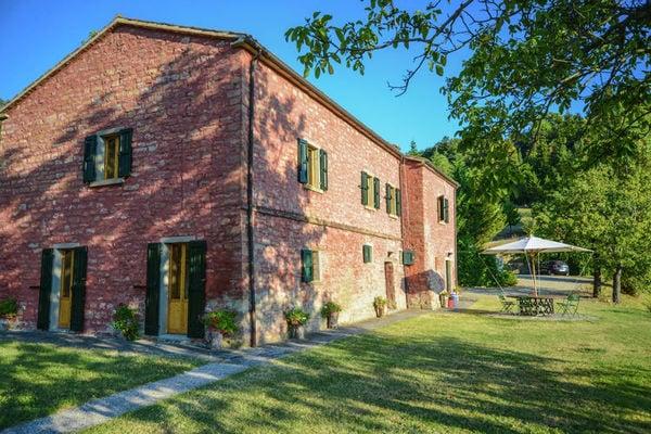 Vakantie accommodatie Tredozio Emilia-Romagna,Noord-Italië 8 personen