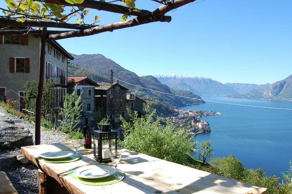 Vakantie accommodatie Bellano Italiaanse meren,Comomeer,Lombardije,Noord-Italië 5 personen