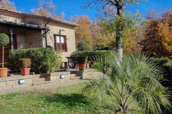 Vakantie accommodatie Sorano Toscane 4 personen