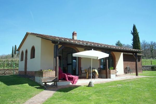 Vakantie accommodatie Bucine Toscane 3 personen