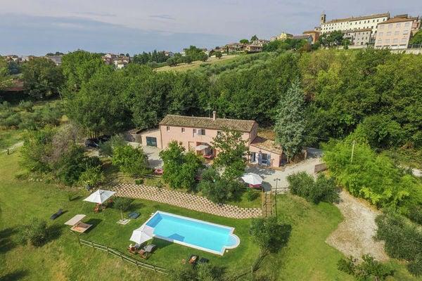 Vakantie accommodatie Morro d'Alba Adriatische kust,Le Marche 4 personen