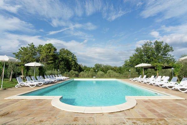 Vakantie accommodatie Capannoli Toscane,Toscaanse Kust 6 personen