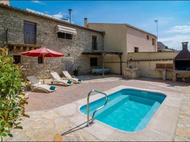 Ferienhaus Modernes Landhaus in Guimerà mit privatem Pool (116749), Guimera, Lleida, Katalonien, Spanien, Bild 22