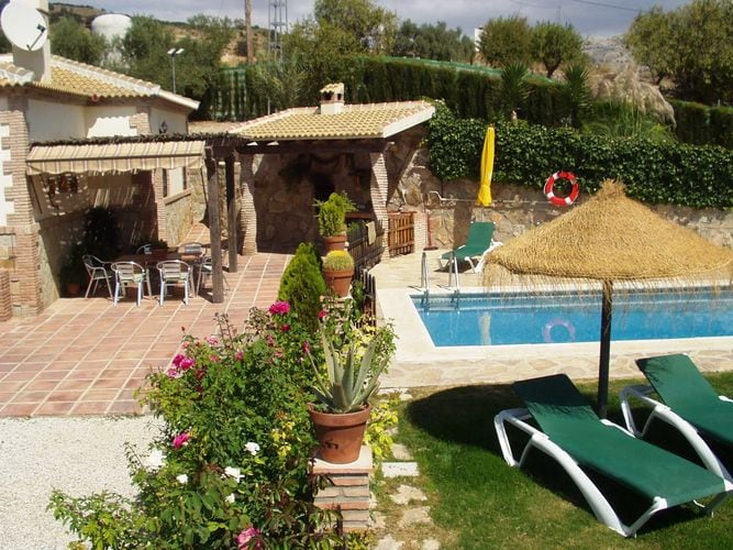 Ferienhaus Traditionelle Villa in Andalusien mit Privatterrasse, Pool (139929), Villanueva de la Concepcion, Malaga, Andalusien, Spanien, Bild 30
