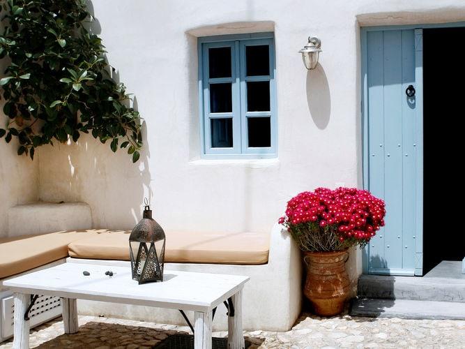 Ferienhaus Luxuriöse Villa mit Whirlpool in Megalochori Santorini (365026), Thira, Santorini, Kykladen, Griechenland, Bild 3