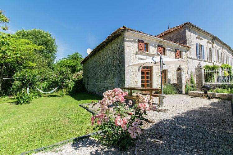 Frankrijk | Cote-Atlantique | Vakantiehuis te huur in Champagnac met zwembad  met wifi 6 personen