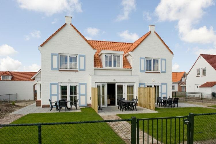 Vakantiehuizen Nederland | Zeeland | Villa te huur in Cadzand-Bad   met wifi 13 personen