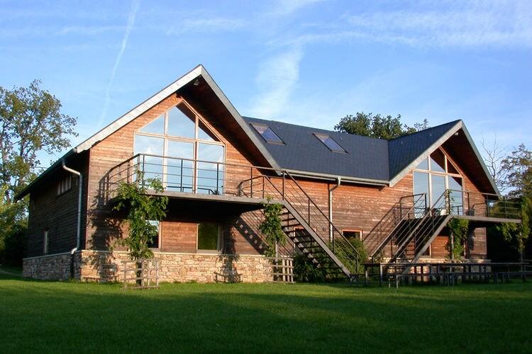 Belgie Chalets te huur Houten chalet voor 28 personen met sauna