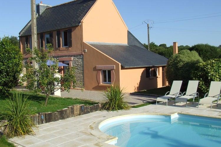 Vakantiehuis met zwembad   BretagneVilla Les sables blancs