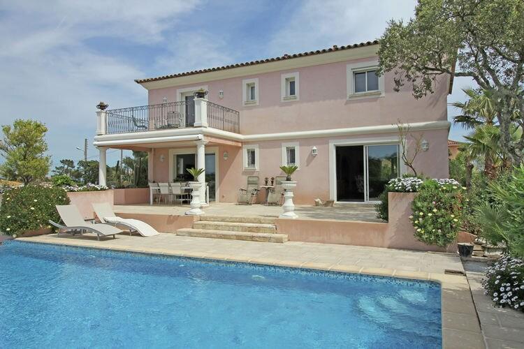 Villa met zwembad met wifi  Saint-Aygulf  Villa Belrose