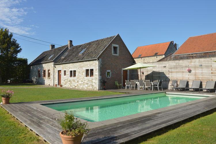 Belgie | Luik | Vakantiehuis te huur in Goe met zwembad  met wifi 12 personen
