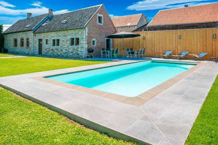 Vakantiehuizen Belgie | Luik | Vakantiehuis te huur in Goe met zwembad  met wifi 12 personen