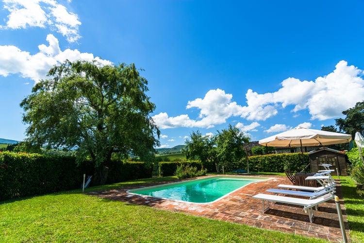 Vakantiehuizen Italie | Toscana | Vakantiehuis te huur in Greve-in-Chianti met zwembad  met wifi 4 personen