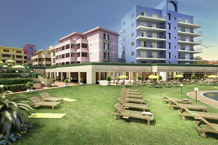 Deze moderne appartementen zijn gelegen in een faciliteitrijke residentie met privéstrand