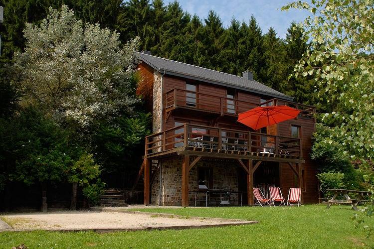Vakantiehuizen Belgie | Luxemburg | Chalet te huur in La-Roche-en-Ardenne    12 personen