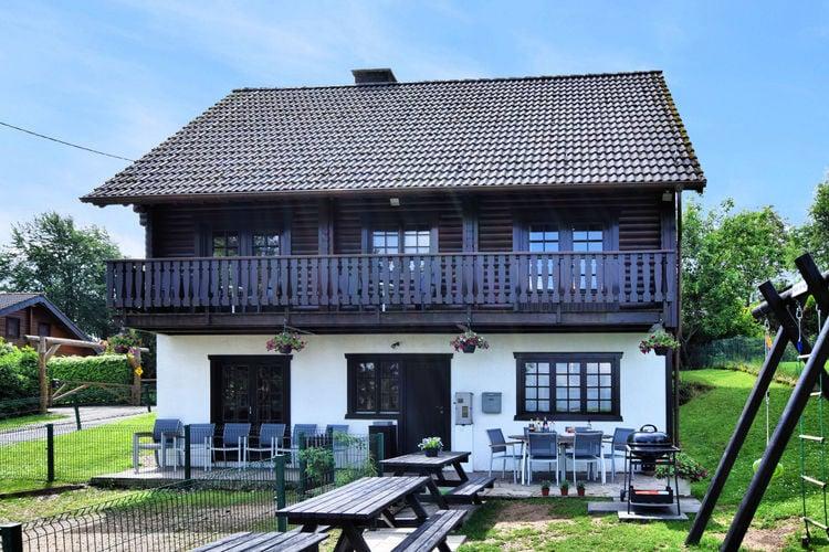 Vakantiehuizen Belgie | Luxemburg | Chalet te huur in Fraiture-vielsalm   met wifi 15 personen