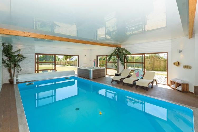 Vakantiehuizen Frankrijk | Bretagne | Villa te huur in BrignoganPlage met zwembad  met wifi 10 personen