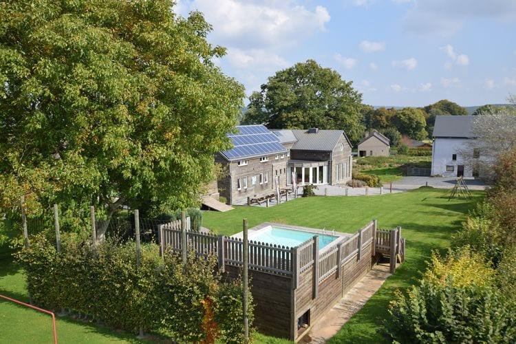 Vakantiehuis met zwembad met wifi  Vielsalm  La Joie de Vivre