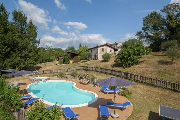 Vakantiehuizen Italie | Toscana | Boerderij te huur in Aulla met zwembad  met wifi 15 personen