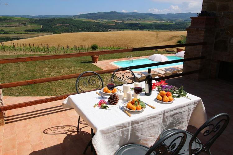 Boerderij Italië, Toscana, Castel del Piano Boerderij IT-58040-02