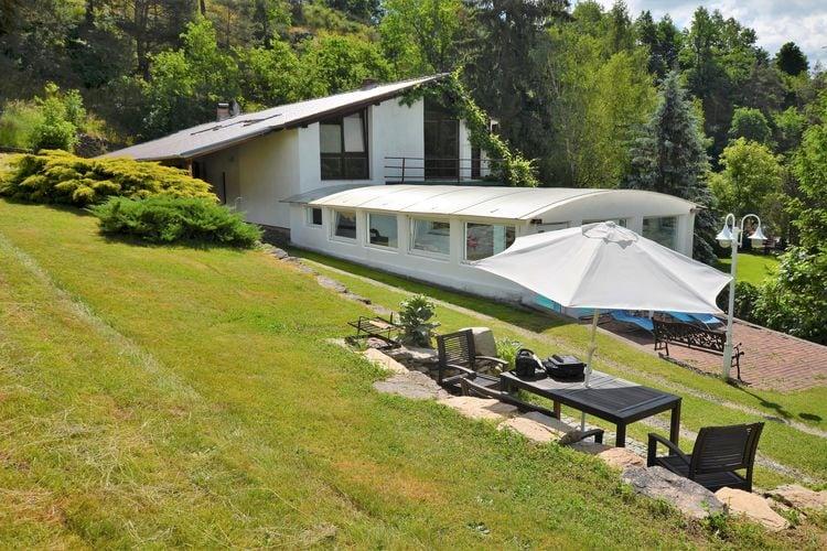 Vakantiehuizen Tsjechie | Zuid-Bohemen- | Villa te huur in Bechyne met zwembad  met wifi 6 personen