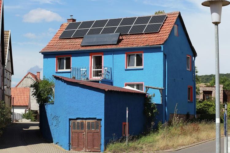Thuringen Vakantiewoningen te huur Kleurig, vrijstaand huis, sfeervol en eco-bewust met fijn terras en kruidentuin