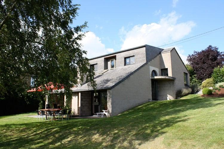 Villa  met wifi  Vielsalm  Sfeervolle villa in de Ardennen met een open haard