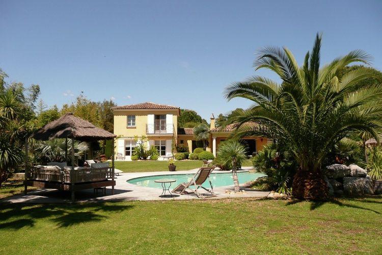 Villa met zwembad met wifi  GassinVilla les Palmiers