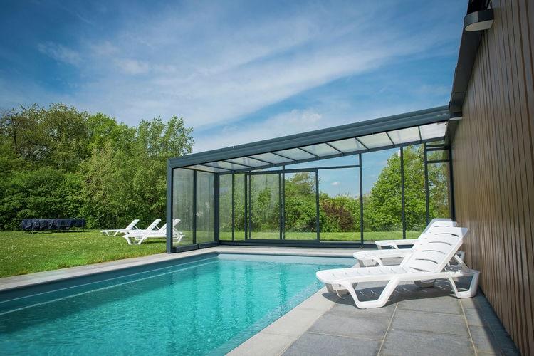Vakantiehuis met zwembad met wifi  LuxemburgVilla Borlon