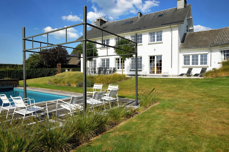 Belgie | Luik | Villa te huur in Theux met zwembad  met wifi 9 personen