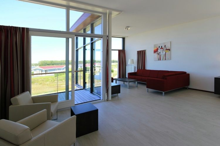 Holland | Zeeland | Holiday home Waterpark Veerse Meer - Dijkvilla Luxe 10 | all year | LivingRoom