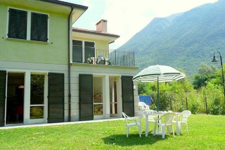 Porlezza Vakantiewoningen te huur Appartement in vakantiecomplex ,aan de oevers van het meer van Lugano.
