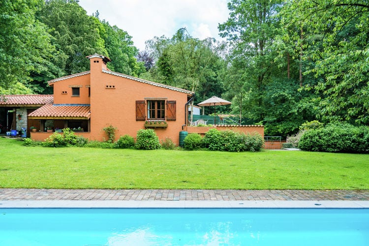Vakantiehuis met zwembad met wifi  Tessenderlo  Streekbossen