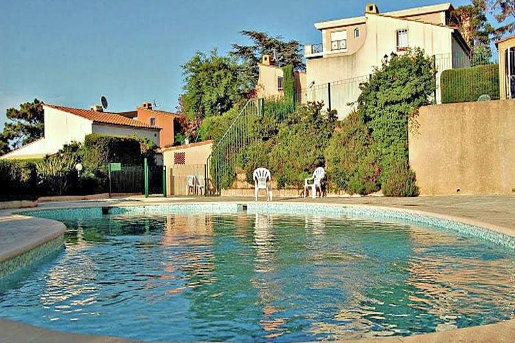 Vakantiehuizen Frankrijk | Provence-alpes-cote-d-azur | Vakantiehuis te huur in Theoule-sur-mer met zwembad  met wifi 6 personen