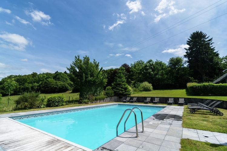 Vakantiehuizen Belgie | Luxemburg | Vakantiehuis te huur in Saint-Hubert met zwembad  met wifi 14 personen