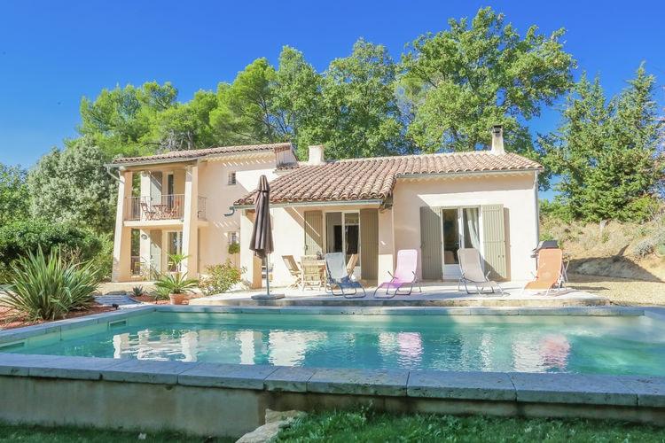 Vaison-La-Romaine Vakantiewoningen te huur Fraaie villa met grote tuin en privé zwembad, enkele km buiten Vaison la Romaine.