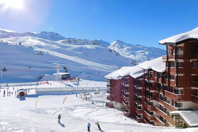Val-Thorens Vakantiewoningen te huur Comfortabele appartementen in residence aan de voet van de piste in Val Thorens