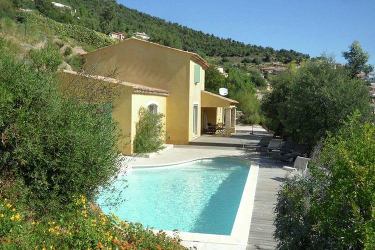Vakantiehuizen Frankrijk | Provence-alpes-cote-d-azur | Villa te huur in La-Londe-Les-Maures met zwembad  met wifi 6 personen