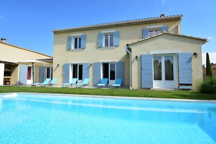 Villa met zwembad met wifi  Vaison-La-Romaine  Villa Planchette