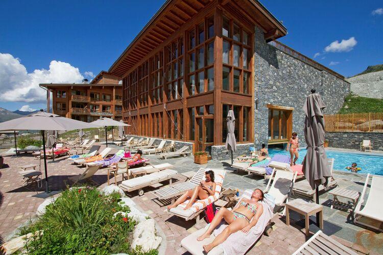 Frankrijk | Rhone-alpes | Appartement te huur in Bourg-Saint-Maurice met zwembad  met wifi 6 personen