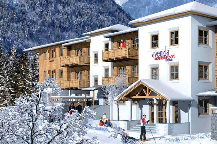 Mountain Resort Kaprun type M4E - Apartment - Kaprun - Exterior - Winter