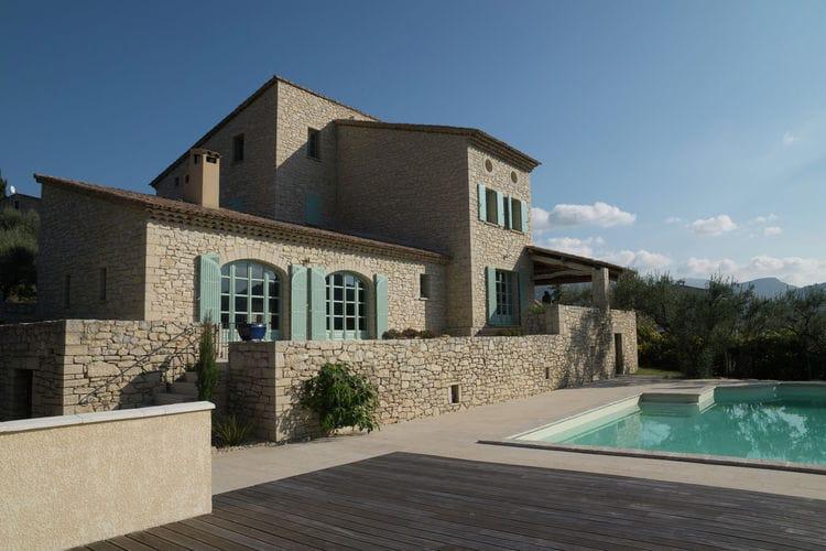 Vakantiehuizen Frankrijk | Provence-alpes-cote-d-azur | Villa te huur in Buis-les-Baronnies met zwembad  met wifi 10 personen